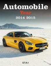 Automobile Year N 62 (2014/2015) - Couverture - Format classique
