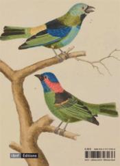 Volière ; oiseaux de paradis - 4ème de couverture - Format classique