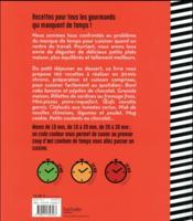 Hs grand livre fait maison 30 minutes chrono - 4ème de couverture - Format classique