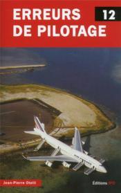 Erreurs de pilotage t.12 - Couverture - Format classique