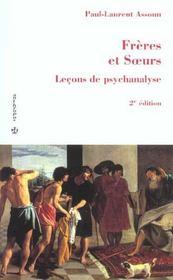 Freres et soeurs (2e édition) - Intérieur - Format classique
