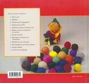 Le livre du modelage - 4ème de couverture - Format classique