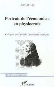 Portrait De L'Economie En Physiocrate - Intérieur - Format classique