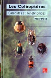 Les coleopteres carabides et tenebrionides ecologie et biologie - Couverture - Format classique