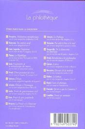 Cours d'esthétique, de Hegel - 4ème de couverture - Format classique