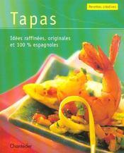 Recettes Creatives : Tapas - Intérieur - Format classique