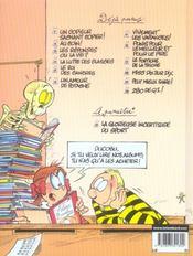 L'élève Ducobu T.12 ; 280 de Q.I. ! - 4ème de couverture - Format classique
