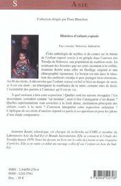 Histoire D Enfants Exposes - 4ème de couverture - Format classique
