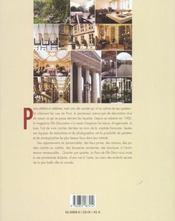 Le Paris De Elle Deco ; Visites Privees D'Une Rive A L'Autre - 4ème de couverture - Format classique