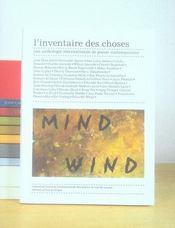 L'inventaire des choses ; une anthologie internationale de poésie contemporaine - Intérieur - Format classique