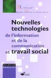 Nouvelles technologies de l'information et de la communication et travail social - Intérieur - Format classique