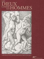 Les dieux comme les hommes - Couverture - Format classique