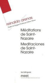 Méditations de Saint Nazaire - Couverture - Format classique