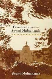 Conversations Avec Swami Muktananda - Couverture - Format classique