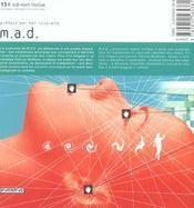 M.A.D - 4ème de couverture - Format classique