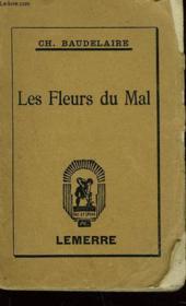Les Fleurs Du Mal - Couverture - Format classique
