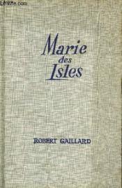 Marie Des Isles I - Couverture - Format classique