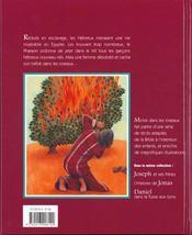 Moise Dans Les Roseaux - 4ème de couverture - Format classique