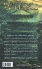 Witch fall - 4ème de couverture - Format classique