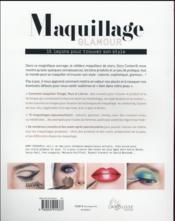 Maquillage glamour - 4ème de couverture - Format classique