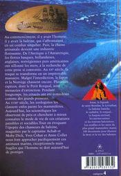 Vie et mort des baleines - 4ème de couverture - Format classique