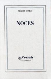 Noces - Couverture - Format classique