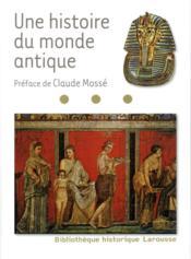 Une histoire du monde antique - Couverture - Format classique