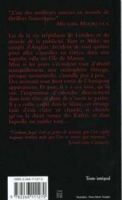 Rêves égarés - 4ème de couverture - Format classique