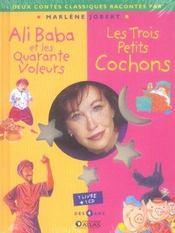Ali Baba Et Les Quarante Voleurs ; Les 3 Petits Cochons - Intérieur - Format classique