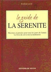 Le Guide De La Serenite - Intérieur - Format classique