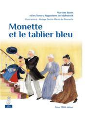 Monette et le tablier bleu - Couverture - Format classique