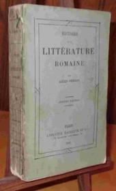 Histoire De La Litterature Romaine - Couverture - Format classique