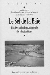 Le sel de la baie ; histoire, archéologie, ethnologie des sels atlantiques - Intérieur - Format classique