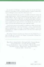 L'AFRIQUE ROMAINE DE 69 A 439 ; romanisation et christianisation (édition 2005/2006) - 4ème de couverture - Format classique