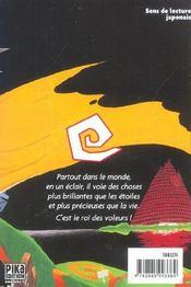 King of bandit jing t.1 - 4ème de couverture - Format classique