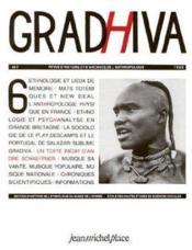 Revue Gradhiva N.6 - Couverture - Format classique