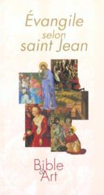 L'evangile selon st jean - francais - Couverture - Format classique