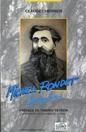 Michel rondet - Couverture - Format classique