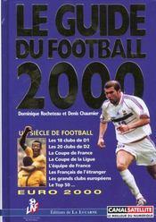 Guide du football 2000 - Intérieur - Format classique
