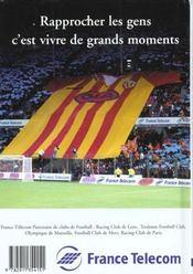Guide du football 2000 - 4ème de couverture - Format classique