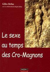 Le sexe au temps des cro-magnons - Couverture - Format classique