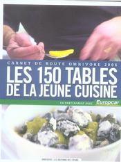 150 Tables De La Jeune Cuisine (Les) - Intérieur - Format classique