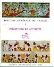Histoire général du travail. - Couverture - Format classique