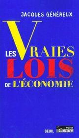 Vraies Lois De L'Economie (Les) - Intérieur - Format classique