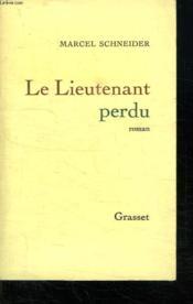 Le Lieutenant Perdu. - Couverture - Format classique
