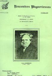 Rencontres Wagneriennes, Bulletin N° 106, Dec. 1983 - Couverture - Format classique