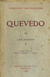 Quevedos Iii, Los Suenos Ii - Couverture - Format classique