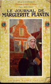 Le Journal De Marguerite Plantin - Couverture - Format classique