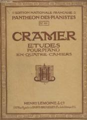 Etudes Pour Piano En Quatre Cahiers - Volume 1 N° 988 : Etude De 1 A 21 - Edition Revue Et Doigtee. - Couverture - Format classique