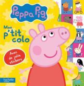 Peppa Pig ; mon p'tit colo - Couverture - Format classique